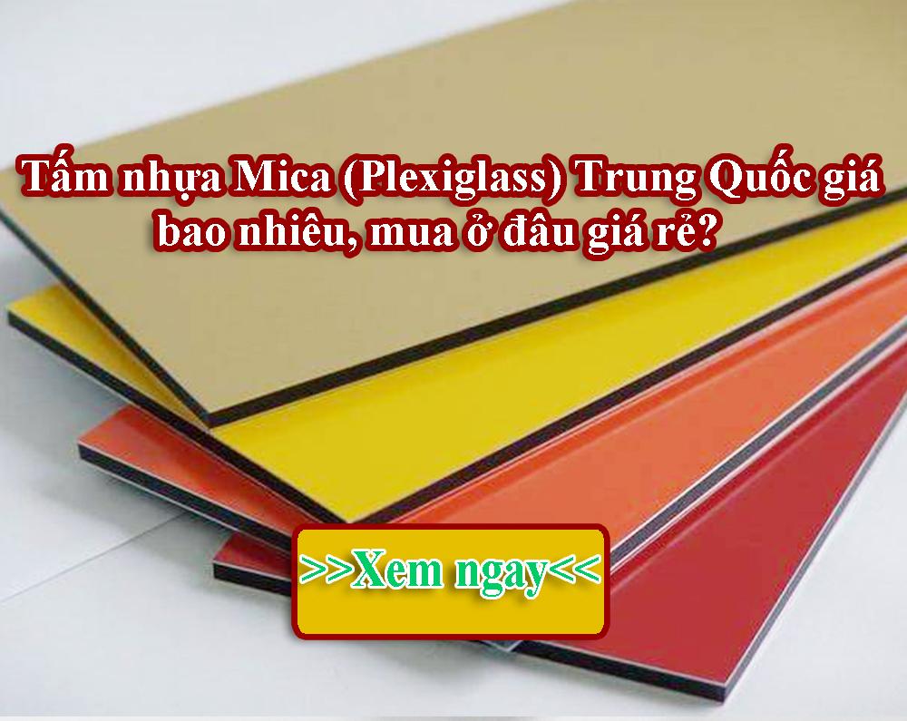 Nhua mica Trung Quoc